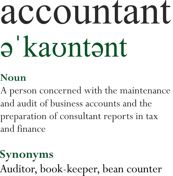 account defintion